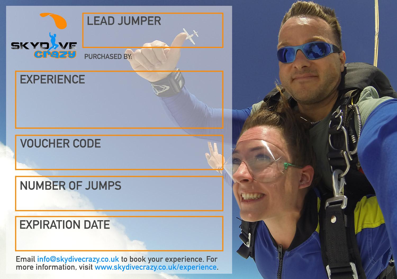 Tandem Skydive Experience Midweek
