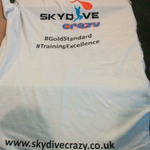 Skydive Crazy T-shirt
