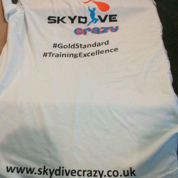 Skydive Crazy T-shirt